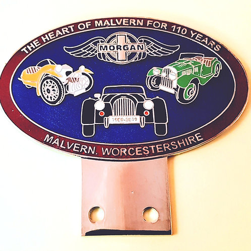 Morgan 110th Anniversary badge