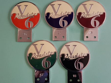 Roadster badges reduced in price