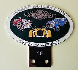 110th Anniversary badges