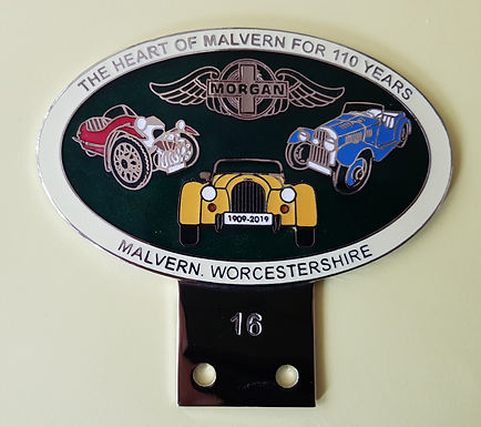 110th Anniversary badges