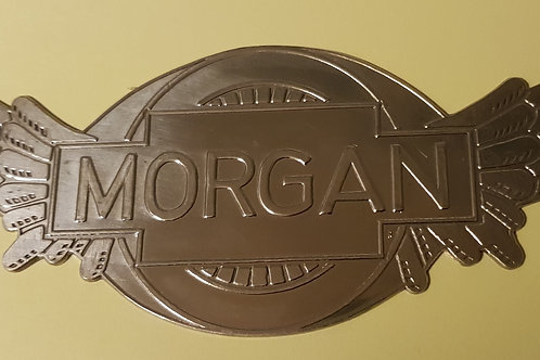 Morgan Three-wheeler radiator badge