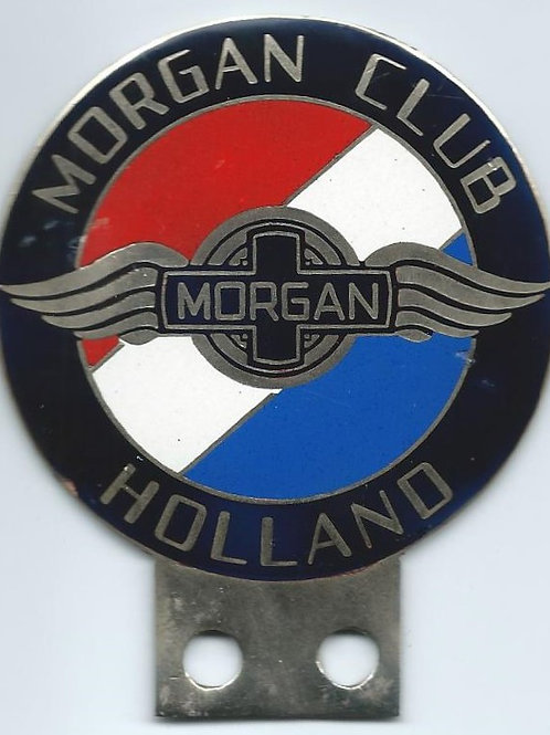 Morgan Club Holland badge