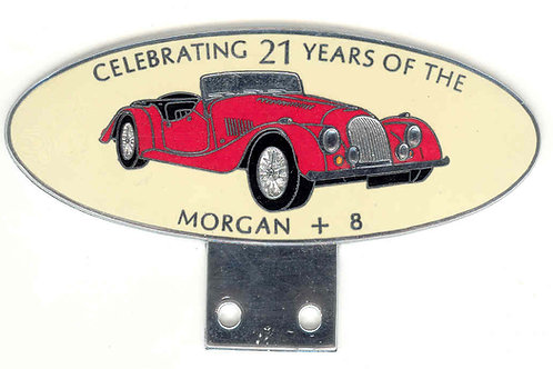 CELEBRATING 21 YEARS OF THE MORGAN +8