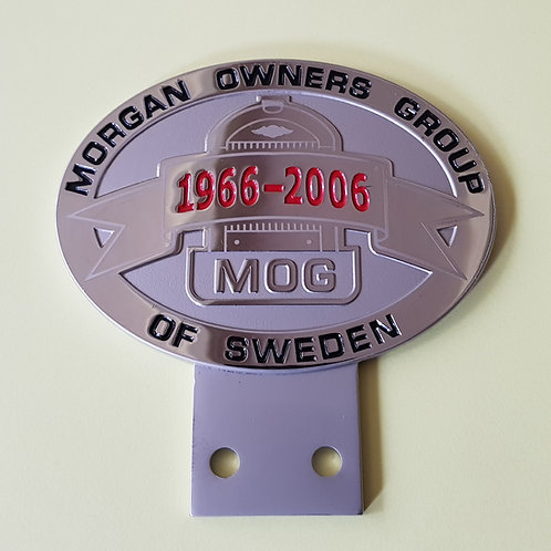 Morgan Owners Group 40th anniversary, 1966 -2006