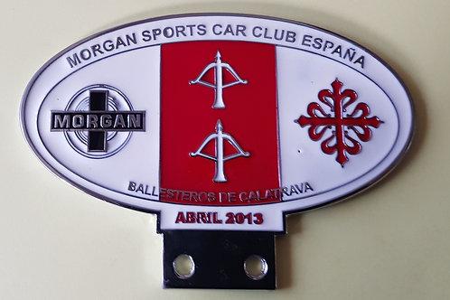 Morgan Sports Car Club España, Abril 2013