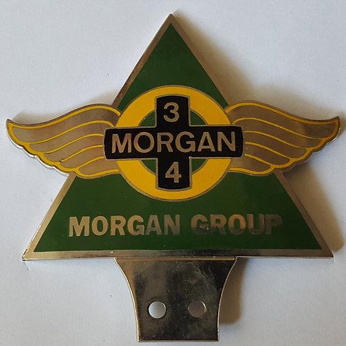 MORGAN 3/4 GROUP BADGE