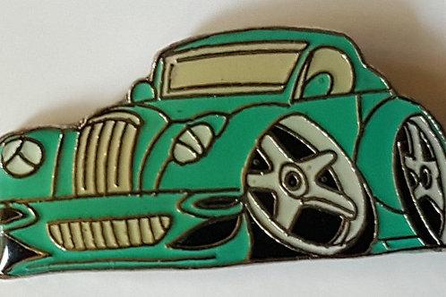 Morgan cartoon pin