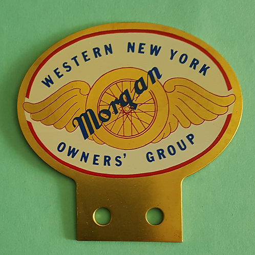 Western New York Morgan Owners Group badge