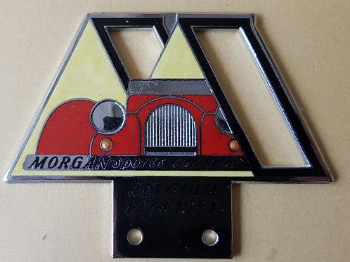 Morgan Sports Car Club Belgium 1974 - 1984