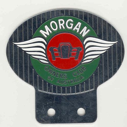 MORGAN OWNERS CLUB AUSTRALIA BADGE