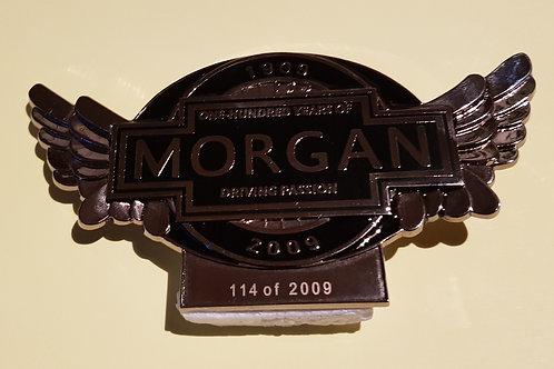 Morgan 100 Years 1909 - 2009, Centenary badge