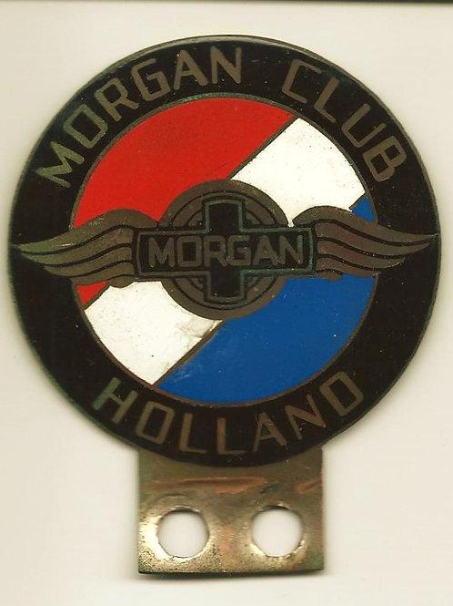 Morgan Club Holland badge with patina