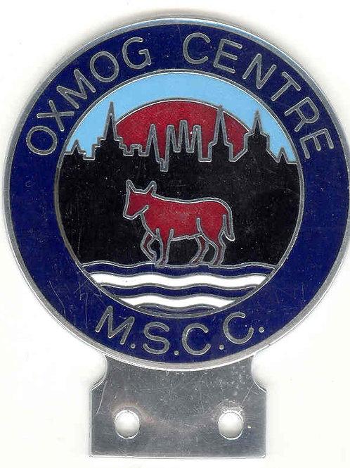 MSCC OXFORD CENTRE, DARK BLUE RIM-RARE