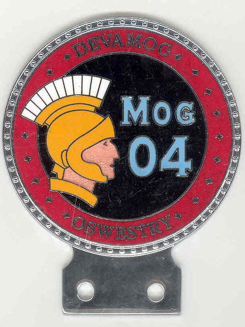 MOG 04 OSWESTRY Badge