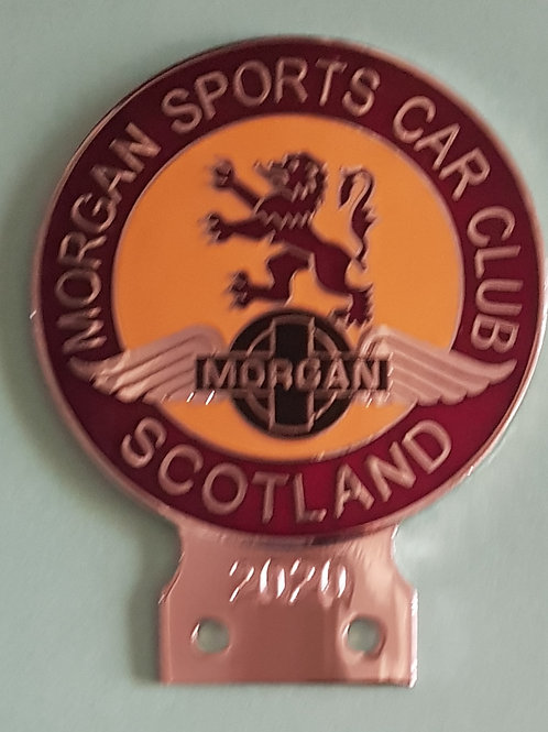 Morgan Sports Car Club Scotland 2020 badge