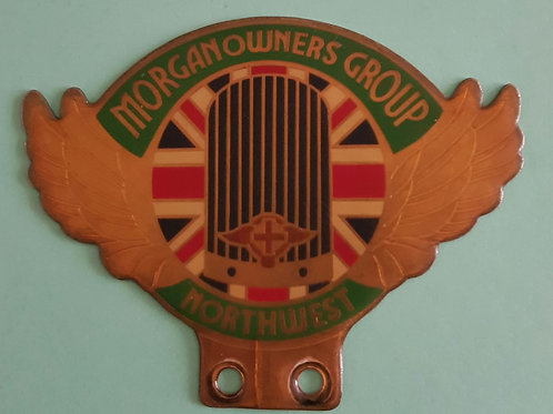 Morgan Owners Group Northwest, used badge