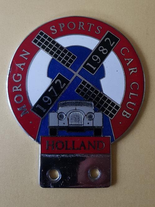 Morgan Sports Car Club Holland, windmill badge