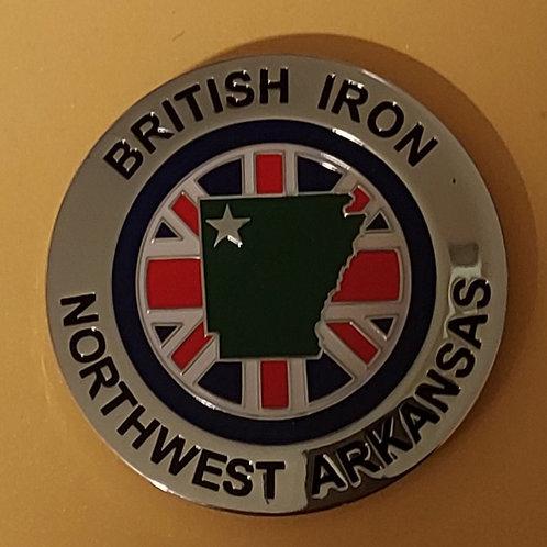 British Iron Northwest Arkansas, grille badge