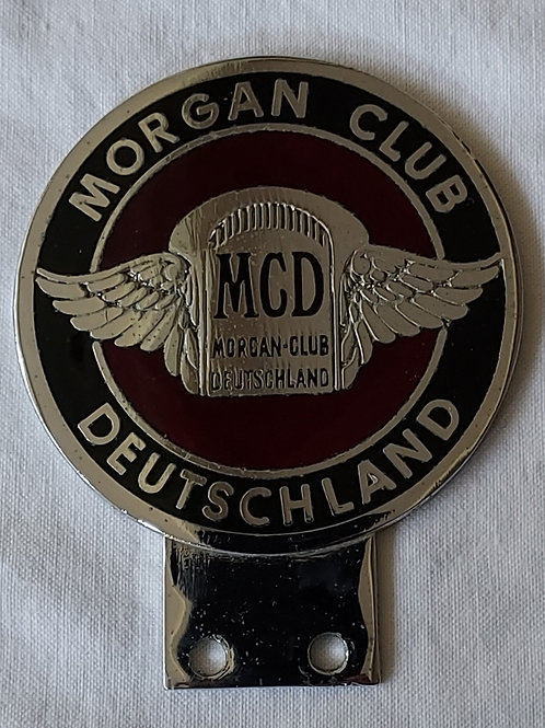 Morgan Club Deutschland, round club badge