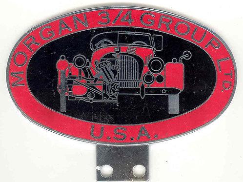 Morgan 3/4 Groups Ltd Oval badge