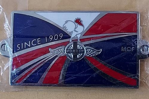 Morgan Club de France, bonnet badge