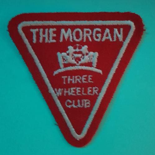Morgan Three Wheeler Club patch, red