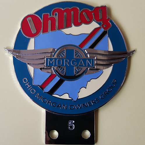 New Ohio Morgan Owners Group badge
