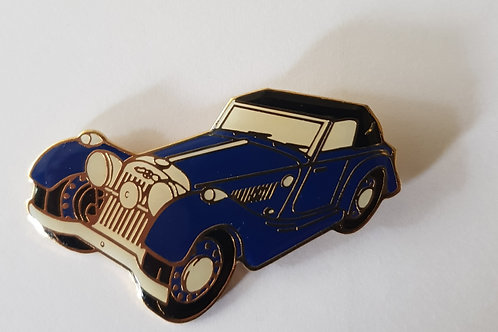 Morgan flat rad Drophead Coupé pin badge