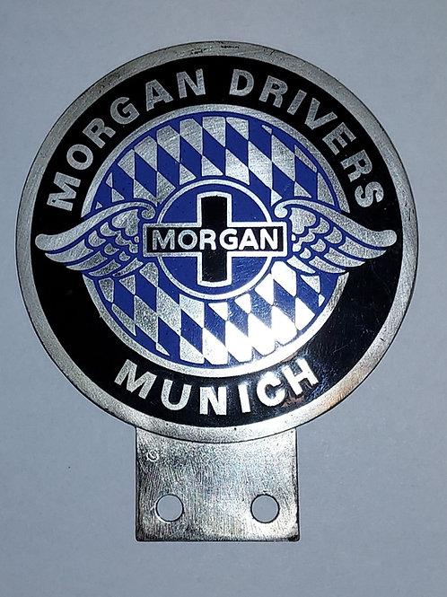 Morgan Drivers Munich badge, rare