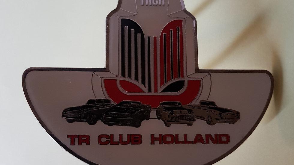Triumph TR Club Holland car badge