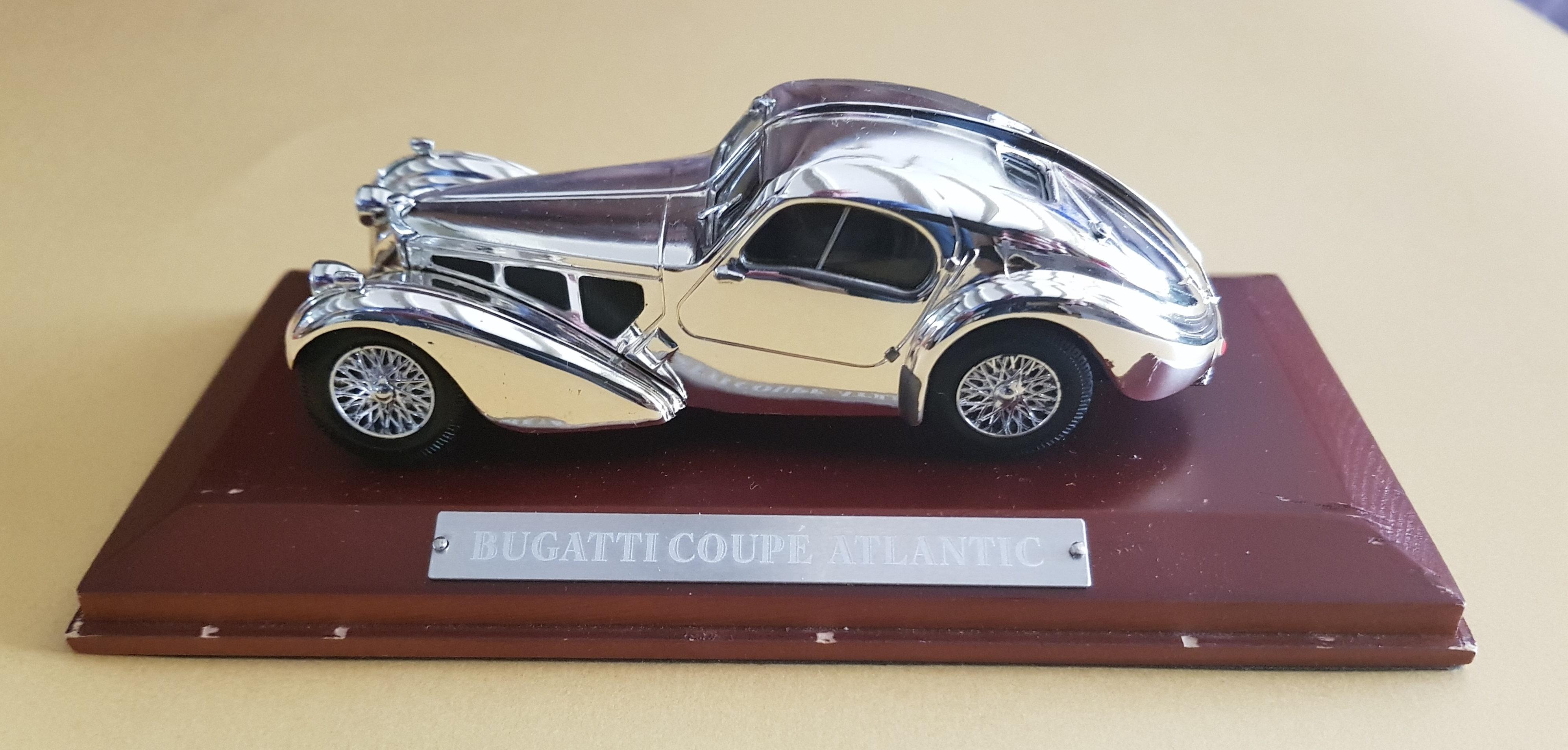 Bugatti Type 57 Atlantic Scale Model Hermen Market Place