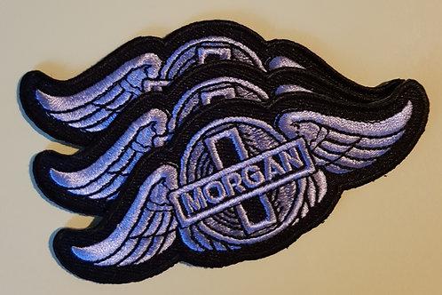 Morgan wings patch, black