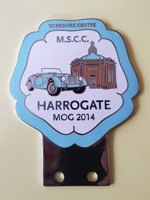MOG 2014 Harrogate, Blue rim