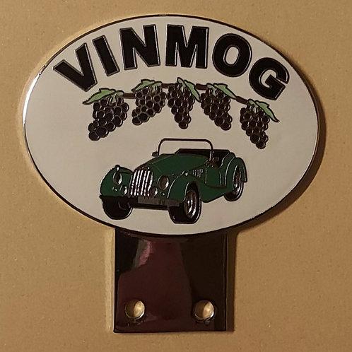 VIN MOG badge, Green Morgan