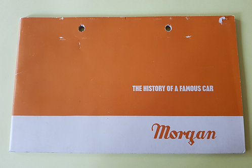 Morgan, The History of a Famous Car (1970)