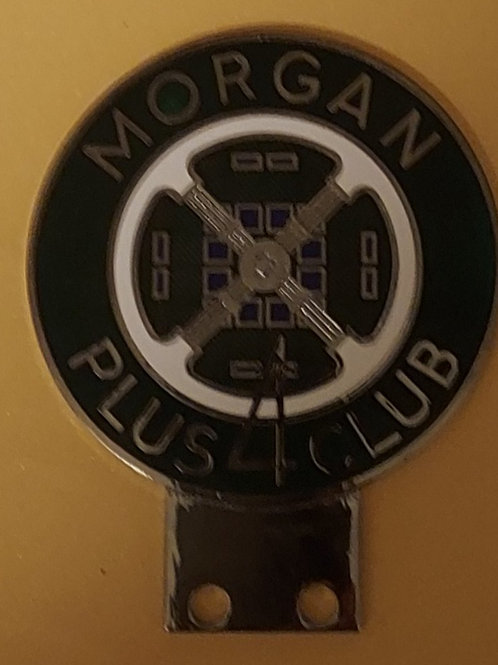 Morgan Plus Four Club car badge