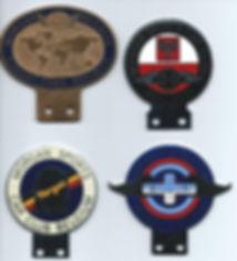 Morgan car badges