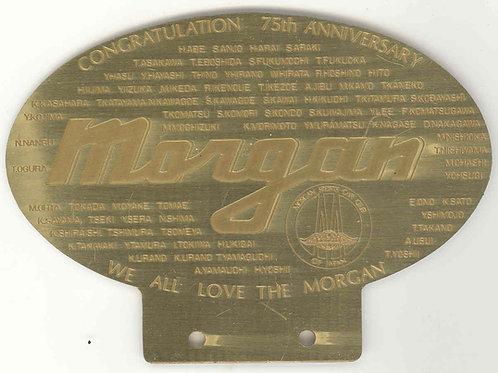 Morgan Sports Car Club Japan 75th Anniversary