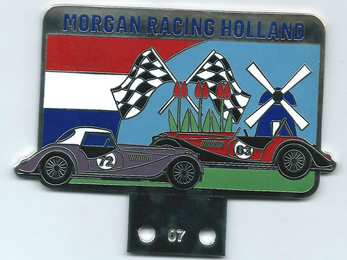 MORGAN RACING HOLLAND - BLUE LETTERS
