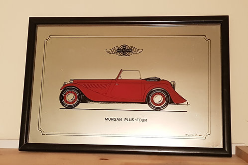 Morgan Plus 4 Drophead Coupe mirror