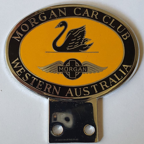 Morgan Car Club Western Australia badge