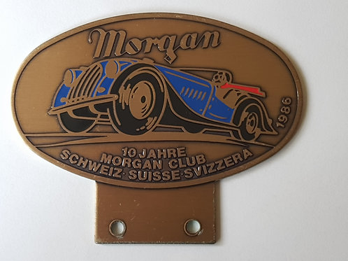 Morgan Club Schweiz 10 Jahre 1986
