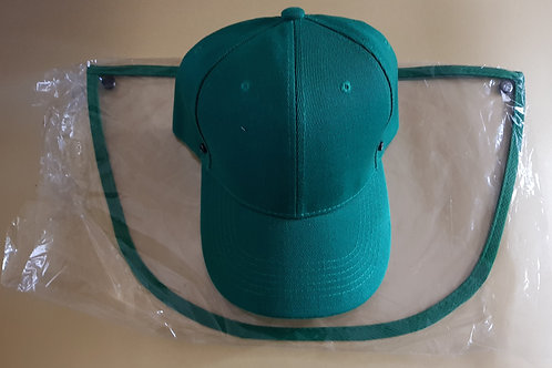 COVID19 cap, with protector, green