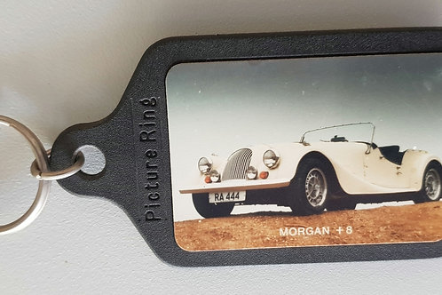 Morgan Plus 8 key ring