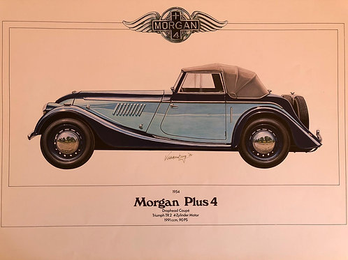 Morgan Plus 4 Drophead Coupé, Karl-Heinz Hornberg