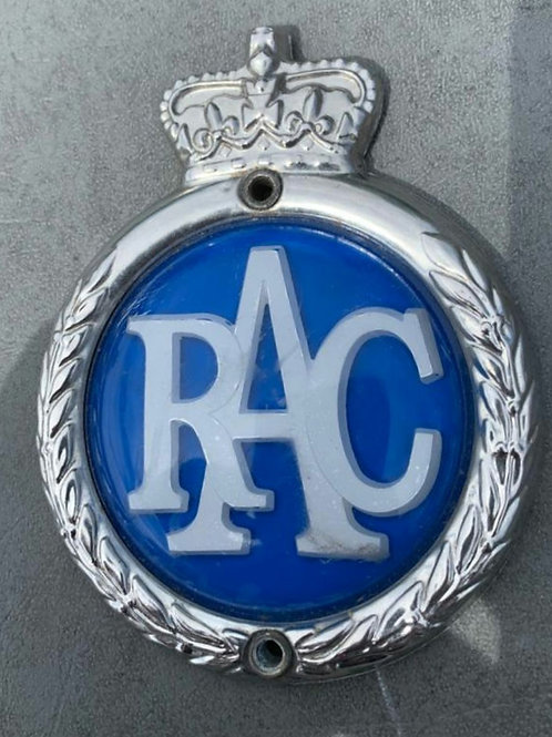 RAC badge, with adapter, used, in UK 🇬🇧