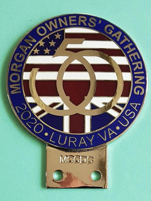 MCCDC MOG 50 badge, unnumbered
