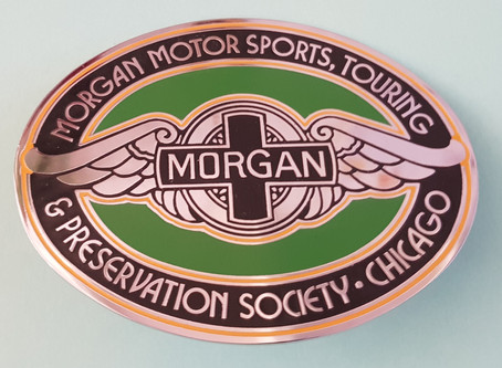 Unique Morgan badge!
