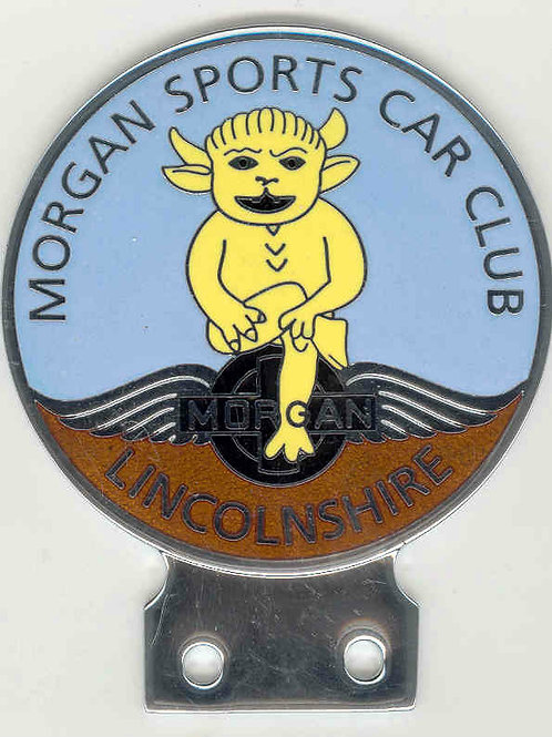MSCC LINCOLNSHIRE BADGE