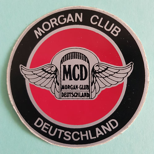 Morgan Club Deutschland club sticker, round